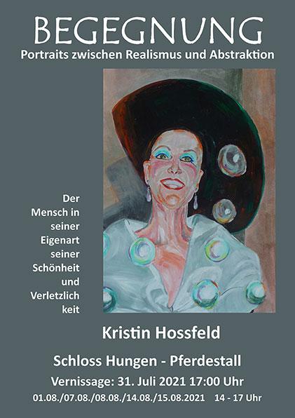 Begegnungen mit Portrait-Malerei von Kristin Hossfeld